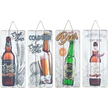 Wonen Schilderijen Signes Grimalt Bier Wandbord 4 Dif. Multicolor
