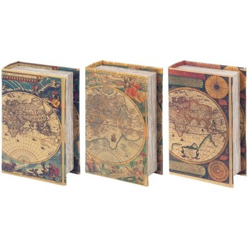 Wonen Trunks, opbergdozen Signes Grimalt Dozen Boek 3 Dif. Wereld Multicolor