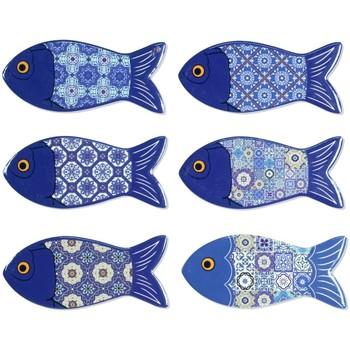 Wonen Beeldjes  Signes Grimalt Magnetic Fish 6U Azul