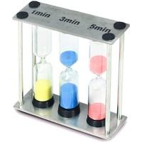 Wonen Beeldjes  Signes Grimalt Zandlopers 1-3-5 Minuten Multicolor