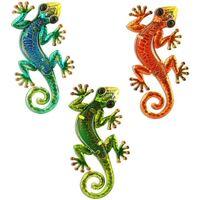 Wonen Buiten verlichting Signes Grimalt Hagedissen Set 3 Eenheden Multicolor
