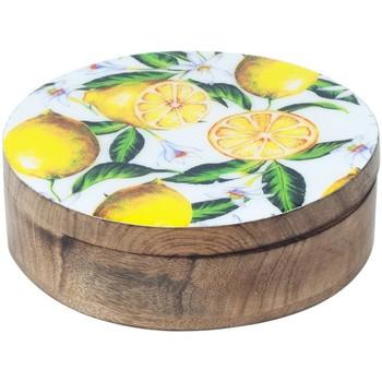 Wonen Trunks, opbergdozen Signes Grimalt Citroenen Round Box Multicolor