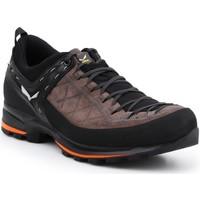 Schoenen Heren Wandelschoenen Salewa MS MTN Trainer 2 61371-7512 brown, black