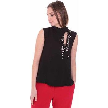 Textiel Dames Tops / Blousjes Nenette 26BB-FERLY Zwart