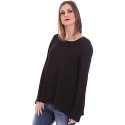 Textiel Dames Tops / Blousjes Fracomina F120W19008W00401 Zwart