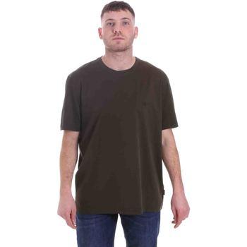 Textiel Heren T-shirts korte mouwen Calvin Klein Jeans K10K105575 Groen