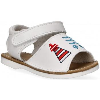 Schoenen Meisjes Sandalen / Open schoenen Bubble 54800 wit