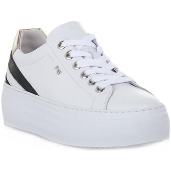 Schoenen Dames Lage sneakers NeroGiardini NERO GIARDINI 707 SKIPPER BIANCO Bianco