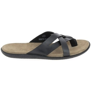 Schoenen Leren slippers Kickers Peplonn Noir Zwart