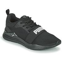 Schoenen Jongens Lage sneakers Puma WIRED JR Zwart