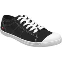 Schoenen Dames Lage sneakers Le Temps des Cerises BASIC 02 Zwart canvas