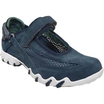 Schoenen Dames Lage sneakers Allrounder by Mephisto Niro filet Fluweelblauw