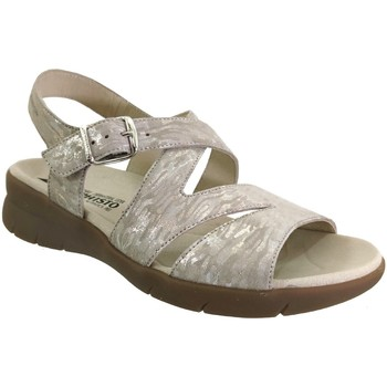 Schoenen Dames Sandalen / Open schoenen Mephisto Eva Beige leer