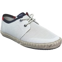 Schoenen Heren Derby Pepe jeans Tourist sailor knit Ecru canvas