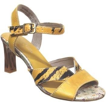 Schoenen Dames Sandalen / Open schoenen Laura Vita Hucmiso 02 Geel leer