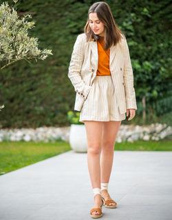 Textiel Dames Jasjes / Blazers Céleste ALIZE Beige
