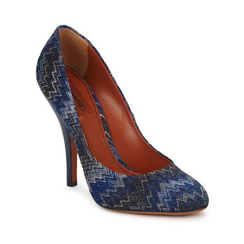 Schoenen Dames pumps Missoni VM005 Blauw