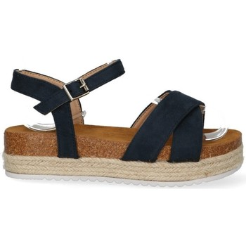 Schoenen Dames Sandalen / Open schoenen Luna Collection 56251 blauw