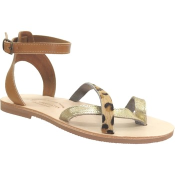 Schoenen Dames Sandalen / Open schoenen Les Spartiates Phoceennes Salome Meerkleurig leer bruin