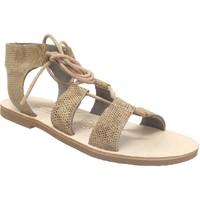 Schoenen Dames Sandalen / Open schoenen Les Spartiates Phoceennes Jade Beige leer