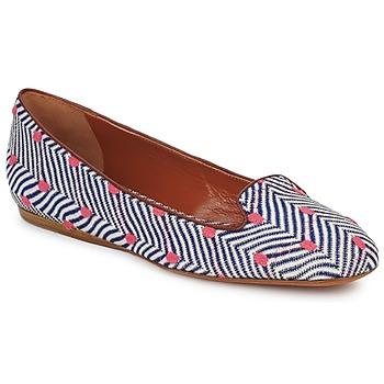 Schoenen Dames Mocassins Missoni VM036 Blauw / Roze