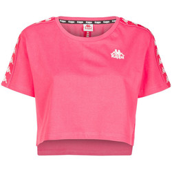 Textiel Dames T-shirts korte mouwen Kappa  Roze