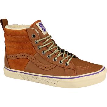 Schoenen Dames Hoge sneakers Vans SK8-Hi 46 MTE Bruin