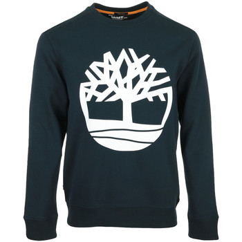 Textiel Heren Sweaters / Sweatshirts Timberland Core Tree Logo Crew Blauw