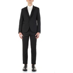Textiel Heren Kostuums Manuel Ritz 3030AR3129-210000 Nero