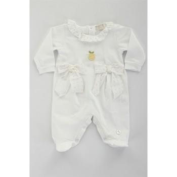 Textiel Meisjes Trainingspakken Lalalu TBL07E Bianco