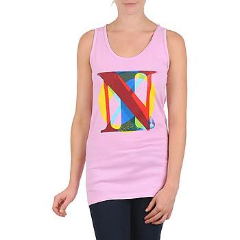 Textiel Dames Mouwloze tops Nixon PACIFIC TANK Roze / Multi