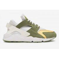 Schoenen Lage sneakers Nike Air Huarache LE x Stussy Dark Olive Dark Olive/White-Varsity Maize-Ivory