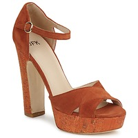Schoenen Dames Sandalen / Open schoenen JFK  Oranje