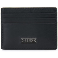 Tassen Dames Portefeuilles Guess BLA NEW BOSTON CARD CASE Nero