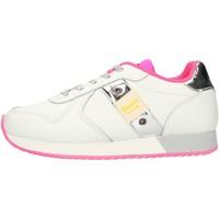 Schoenen Meisjes Lage sneakers Blauer S1LILLI02LEA White