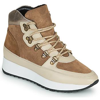 Schoenen Dames Hoge sneakers JB Martin COURAGE Bruin