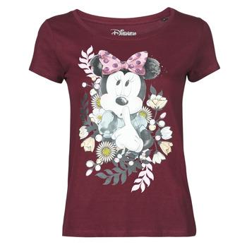Textiel Dames T-shirts korte mouwen Yurban OHJAVE Bordeau