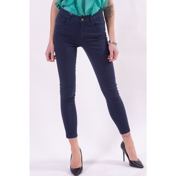 Textiel Dames Broeken / Pantalons Fracomina FR21SP2002W40101 Blu