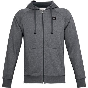 Textiel Heren Sweaters / Sweatshirts Under Armour Rival Fleece FZ Hoodie Grise