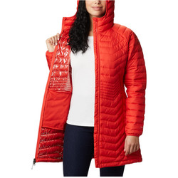 Textiel Dames Sweaters / Sweatshirts Columbia Powder Lite Mid Jacket Orange