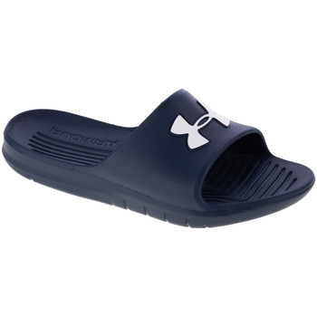Schoenen Heren slippers Under Armour Core PTH Slides Bleu marine