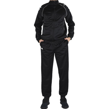Textiel Heren Trainingspakken Kappa Ephraim Training Suit Noir