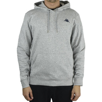 Textiel Heren Sweaters / Sweatshirts Kappa Vend Hooded Grise
