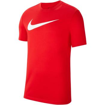 Textiel Heren T-shirts korte mouwen Nike Dri-FIT Park 20 HBR SS Tee Rot