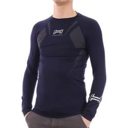 Textiel Heren T-shirts met lange mouwen Hungaria  Blauw