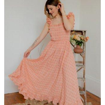 Textiel Dames Lange jurken Céleste AURORE Rose