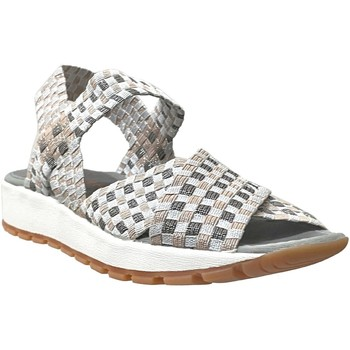 Schoenen Dames Sandalen / Open schoenen Bernie Mev Kaia Grijs / zilver