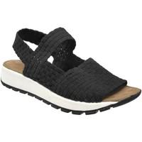 Schoenen Dames Sandalen / Open schoenen Bernie Mev Tara bay Zwart