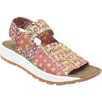 Schoenen Dames Sandalen / Open schoenen Bernie Mev Tara bay Roze / geel