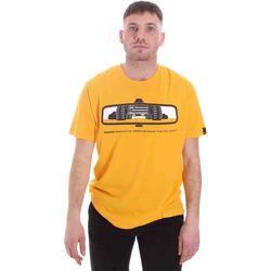 Textiel Heren T-shirts korte mouwen Caterpillar 35CC2510234 Geel